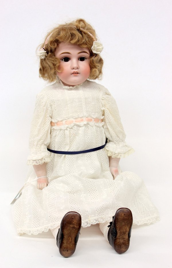 21: J.D. Kestner, Jr. circa 1897 bisque doll