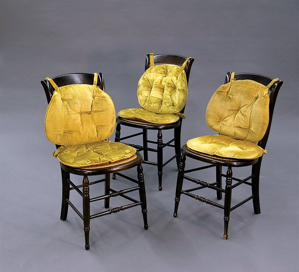 496: Ford's Theatre chairs, Merv Griffin