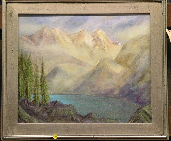 4003: Owen landscape, oil on canvas