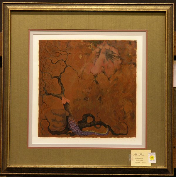 4008: Serigraph, Charles Bragg