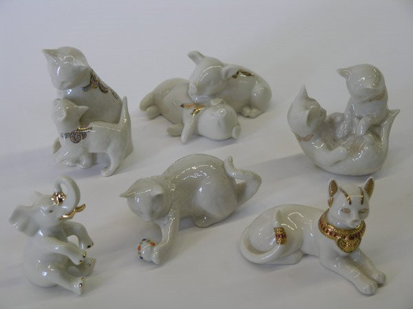 4016: Lenox Porcelain animal figurals