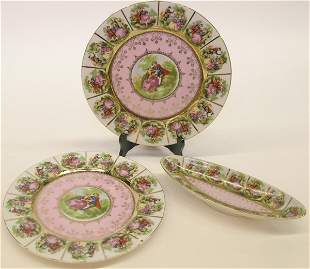 Royal Vienna style platters and celery