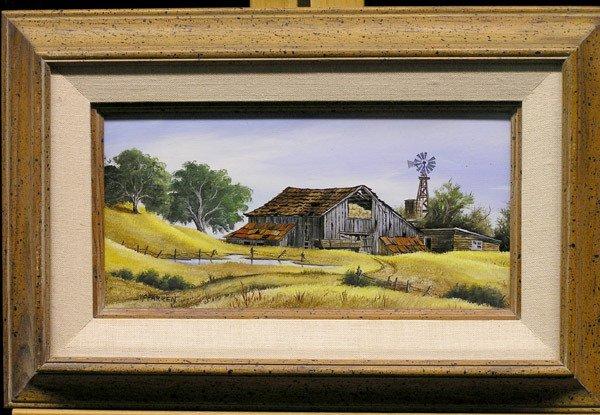 4271: 2 Framed oils, Robert McFarren, Dutch Girl - 2