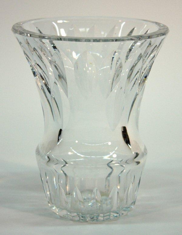 6014: Baccarat trumpet vase