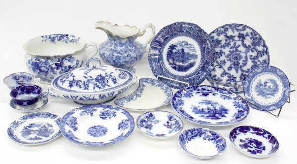 4010: Doulton, Wedgwood Flow Blue