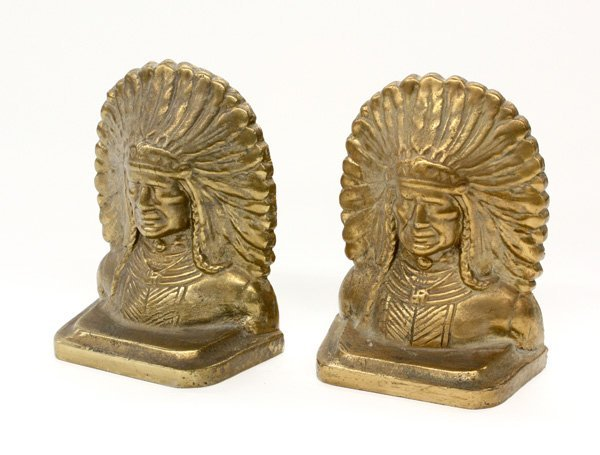 4021: bronze bookends