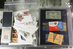 Collection of Stamps and ephemera including relating to