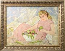 Painting, Lucy Dolling Wells
