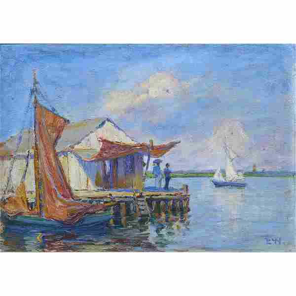 Painting, Ellsworth Woodward