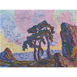 Painting, Birger Sandzen