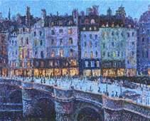 Painting, Serge Mendjisky