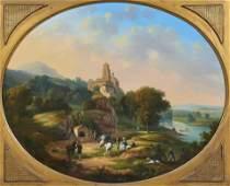 Painting, Continental School (19th century)