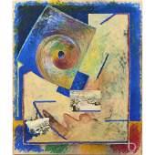 Collage, Robert Hudson