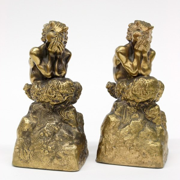 2018: bronze clad pan figures marked McClelland Barclay