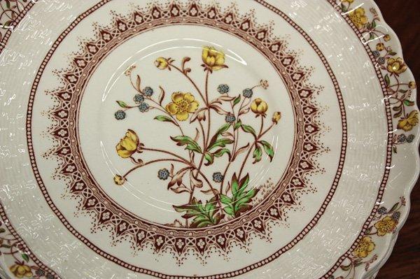 2178: Copeland Spode china (England) ''Buttercup'' patt - 2