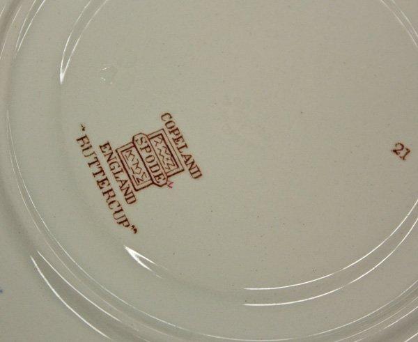 2178: Copeland Spode china (England) ''Buttercup'' patt - 3