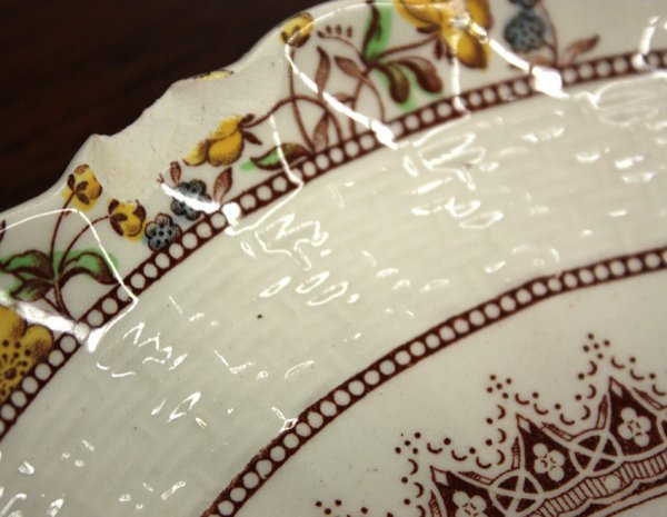 2178: Copeland Spode china (England) ''Buttercup'' patt - 4