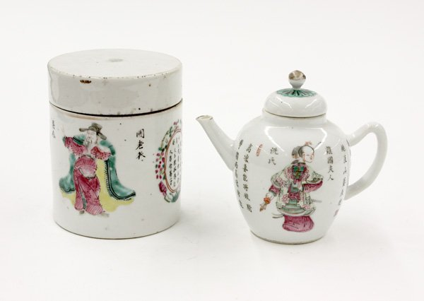 92: Chinese Polychrome Porcelains