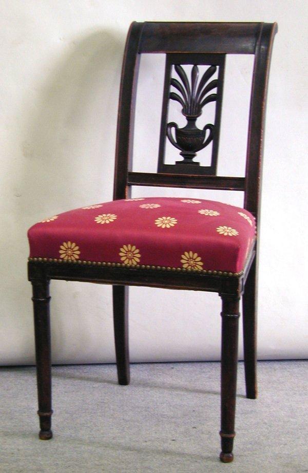 6001: Louis Philippe mahogany desk circa 1860