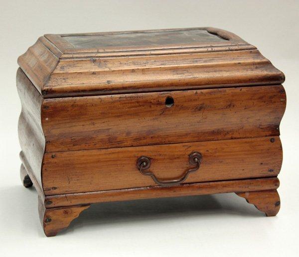6006: Japonisme bombe form 19th century dresser box
