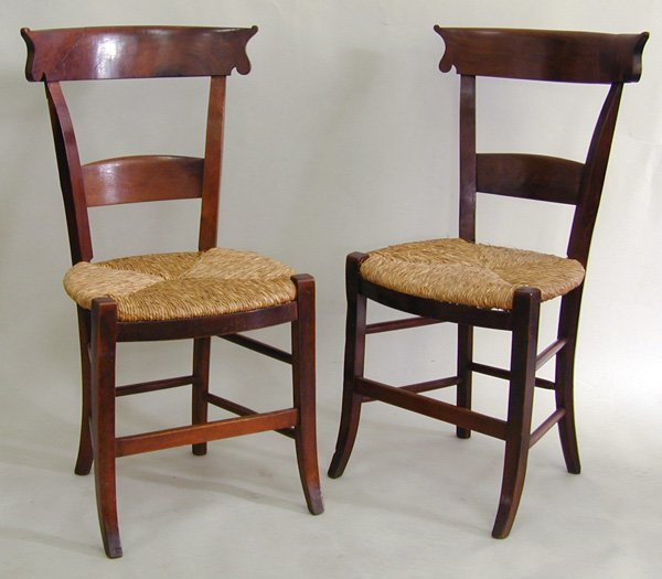 6023: Louis Philippe side chairs c. 1860