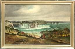 6134: Painting, Denver Art Museum, Niagara Falls