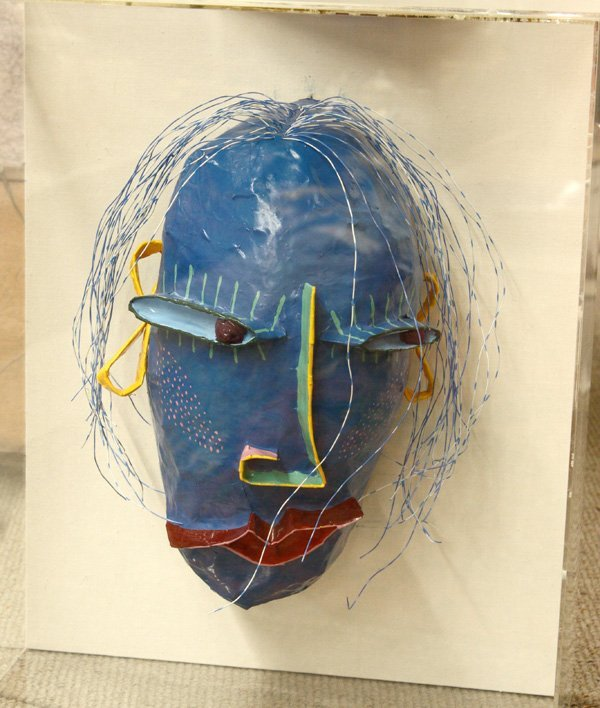 6208: Mask, Gina Truex, Denver Art Museum