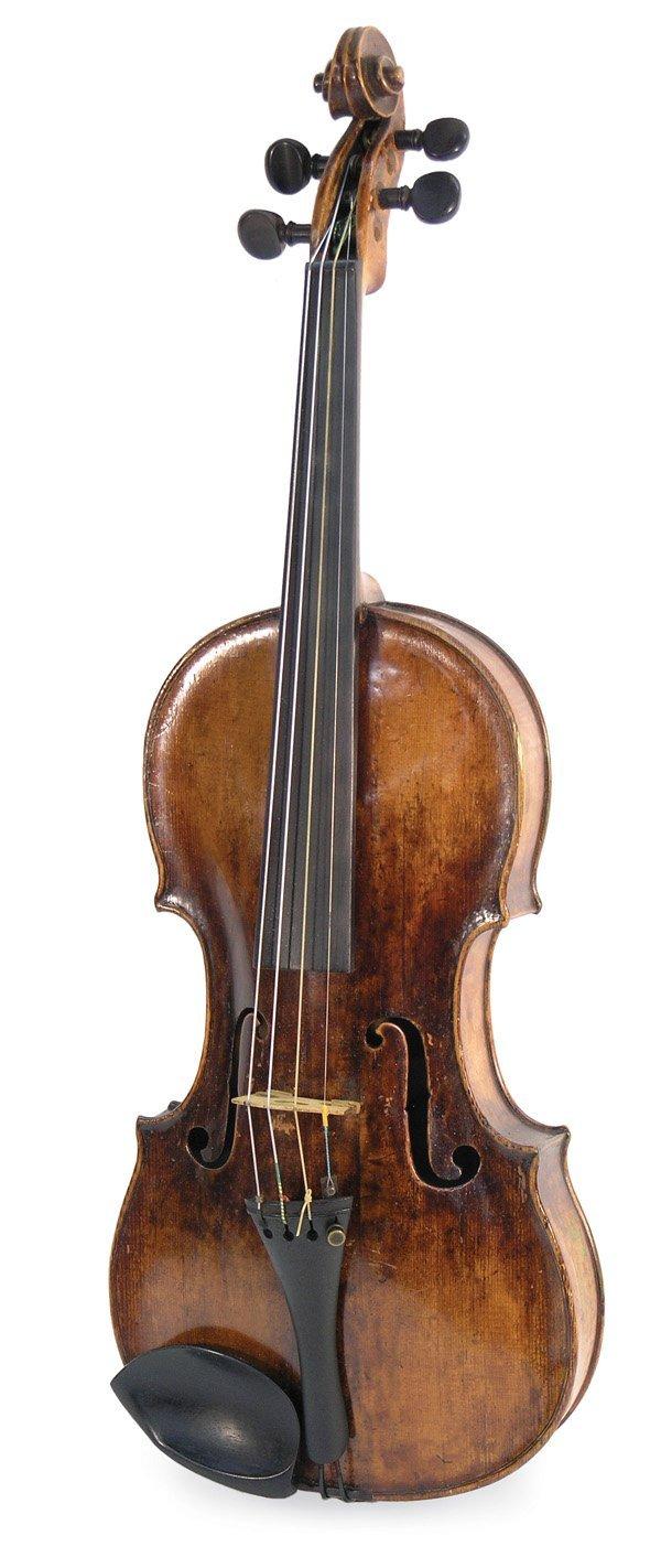 6507: violin, bearing label of Mathias Thir