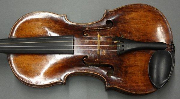 6507: violin, bearing label of Mathias Thir - 3
