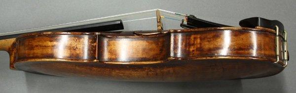 6507: violin, bearing label of Mathias Thir - 4