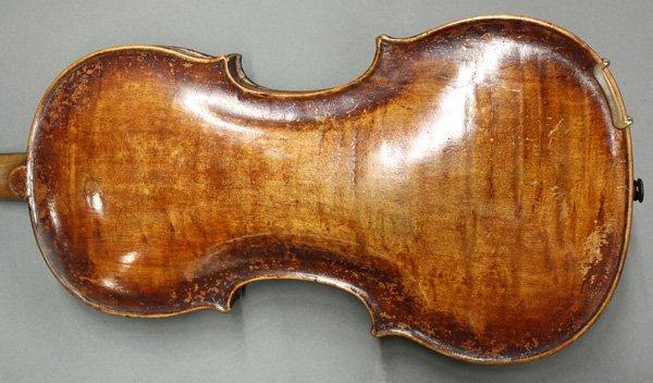 6507: violin, bearing label of Mathias Thir - 5