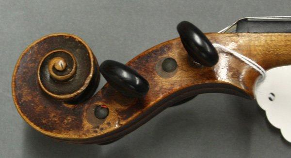 6507: violin, bearing label of Mathias Thir - 6