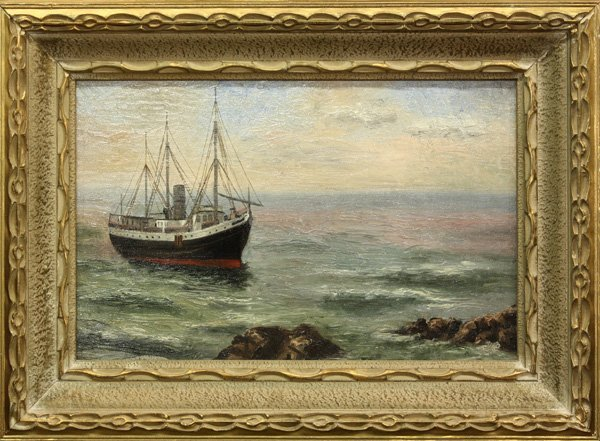 4000: Painting, 20th century, Seascape