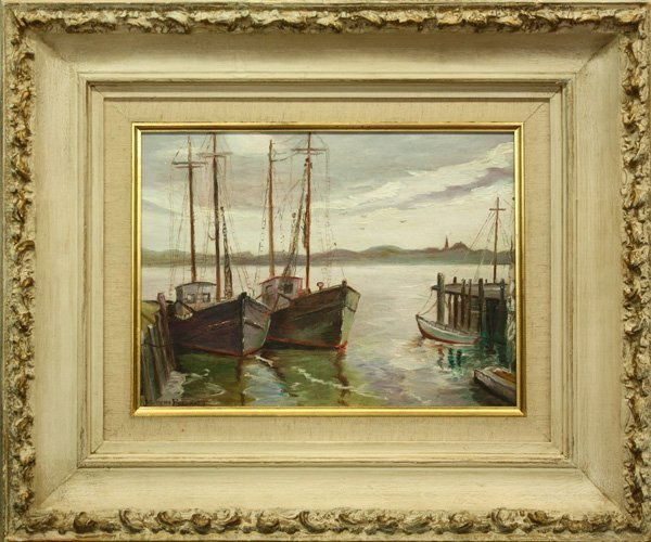 4001: Painting, 20th century, Seascape