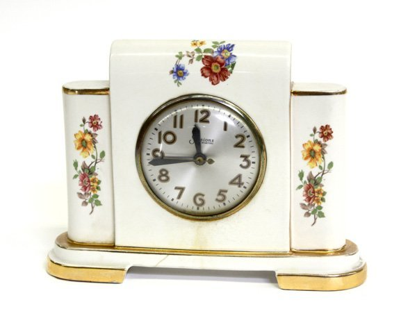 4010: mantel clock, sessions electric american china
