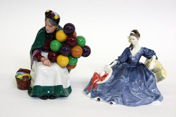 4011: royal doulton porcelain figurines
