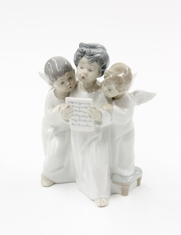 4014: Lladro 4542 'Group of Angels'