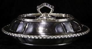 A Tiffany & Co sterling lidded entree dish, circa 1901