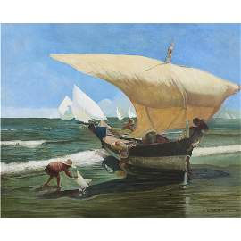 Painting, Arthur Grover Rider