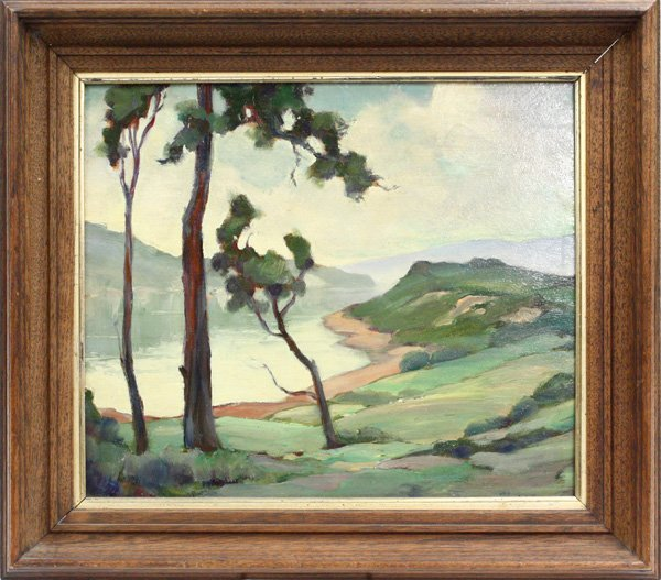 2000: Painting,Landscape, Leland Hyde