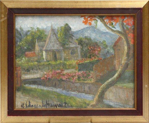 2001: Painting, Landscape, Hildegarde Hume Hamilton