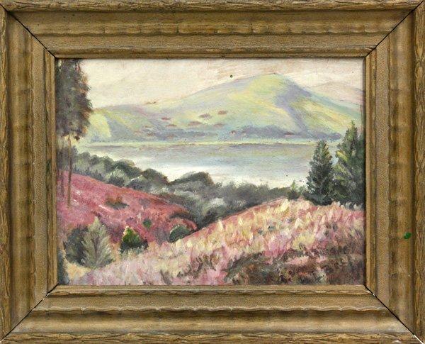 2002: Painting, Landscape, B. L. Buch