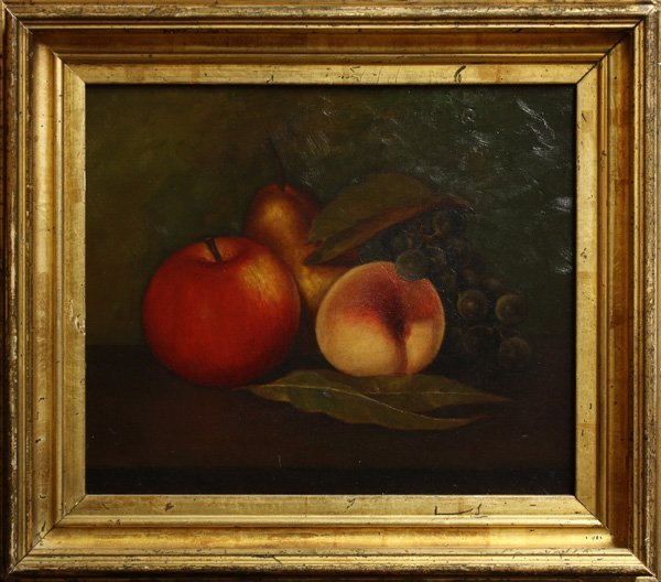 2014: Painting, Still Life with Fruit, 20th century