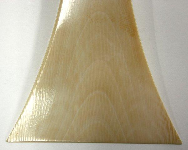 2539: Japanese Ivory Plectrum (Bachi) - 3
