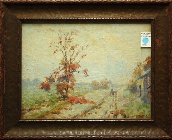 1: Painting, Landscape, Francesco Spicuzza