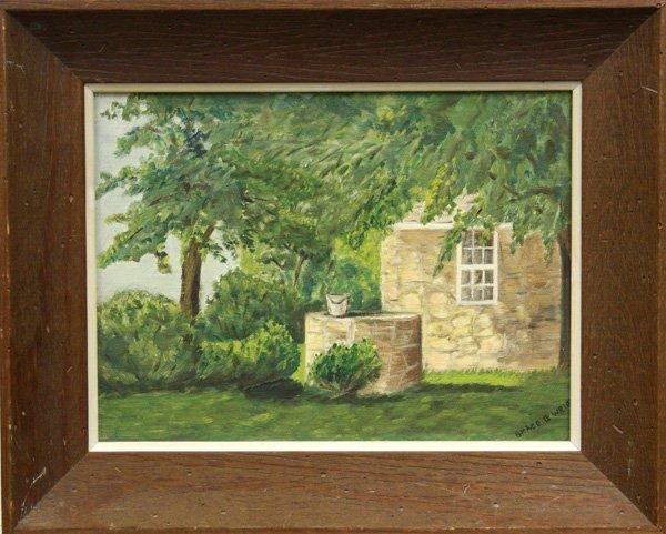 5: Painting, Landscape, 20th century