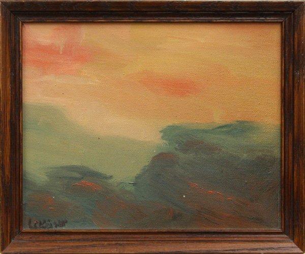 6: Painting, Landscape, 20th century