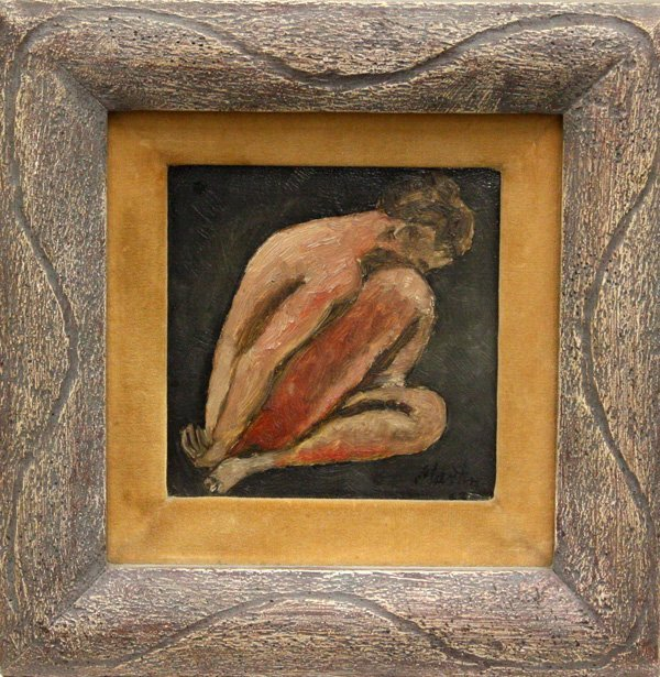 8: Painting, Female Nude, contemporary