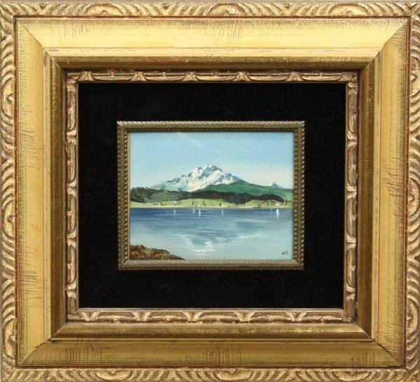 10: Painting, Landscape, 20th centu