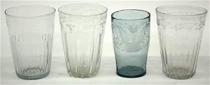 29: Mold blown flip glass